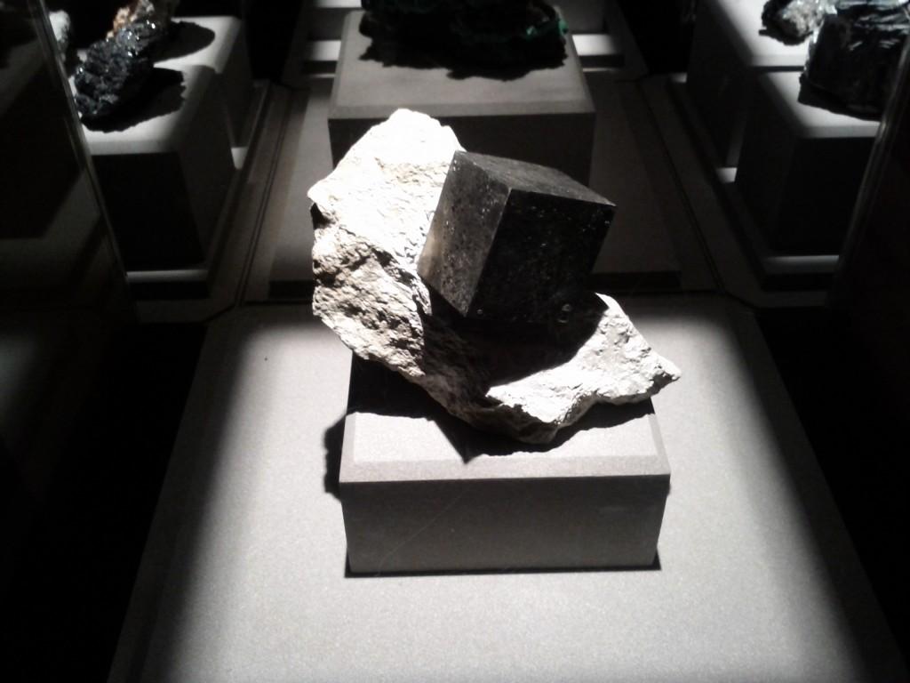 Pirit kristal - karakterističan oblik kocke