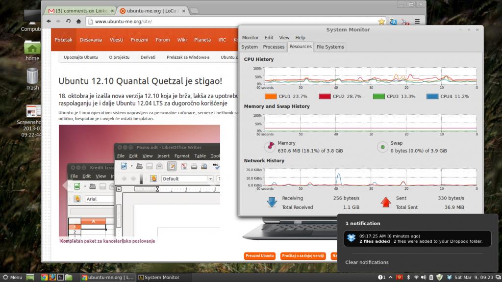 Linux Mint 14 Cinnamon: sve na svom mestu