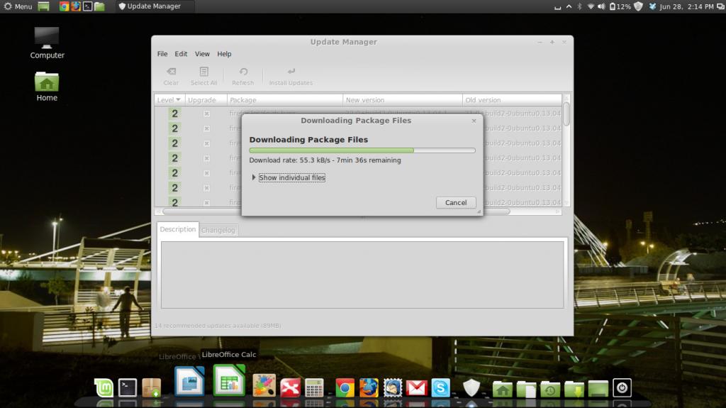 Dobitna kombincija - Cairo dock i Linux Mint 15